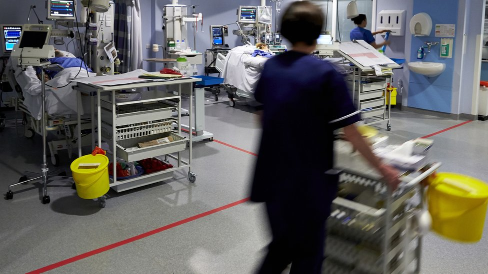 Intensive care unit at University Hospitals Trust