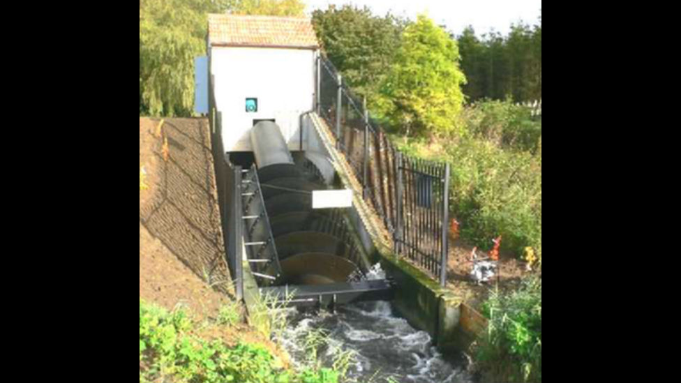 Hydro powered park