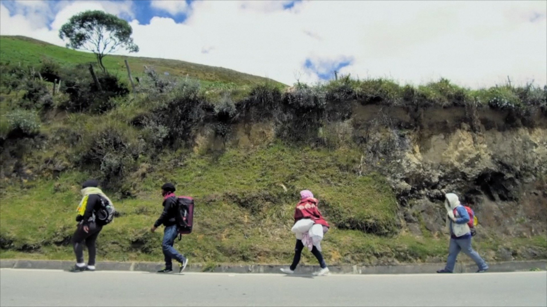 Long watch: What drives a mother to cross South America on foot?