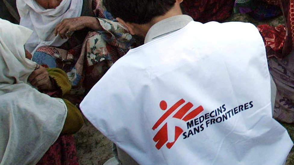 Medecins Sans Frontieres staff 'used local prostitutes'