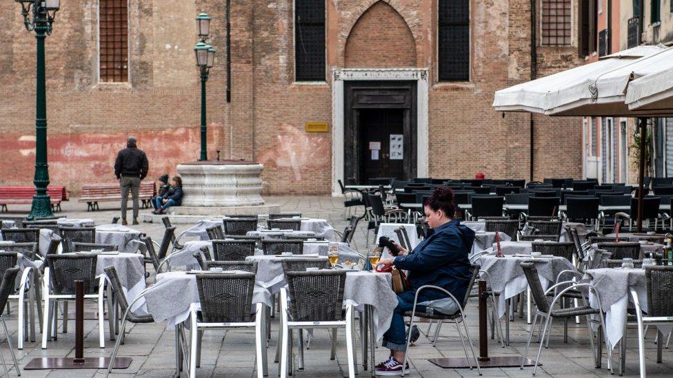 Venecia durante la pandemia