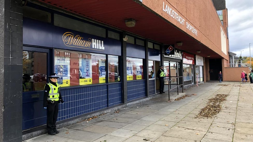 Man in court after Aberdeen bookmaker robberies
