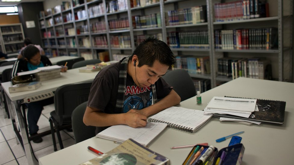 Estudiante mexicano