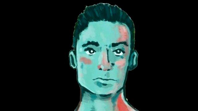Artistic rendering of the face of missing Jhosivani Guerrero de la Cruz