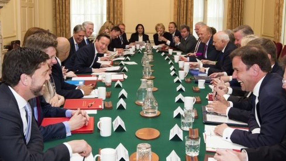 Conservative Cabinet from May 2015
