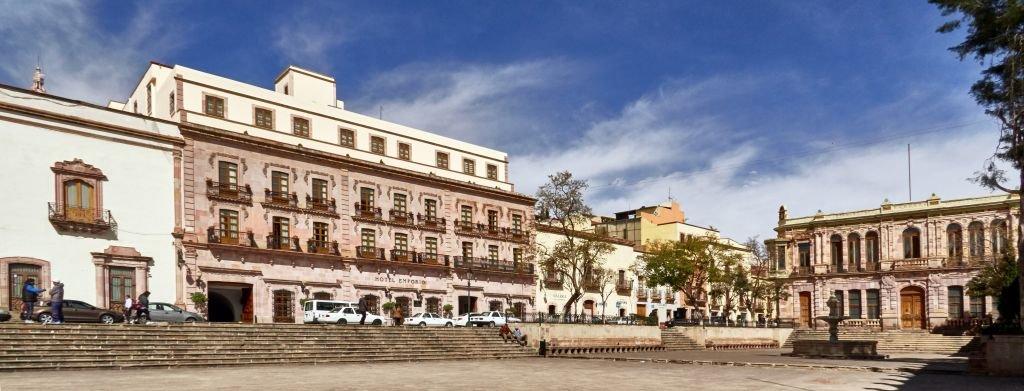 El zócalo de Zacatecas