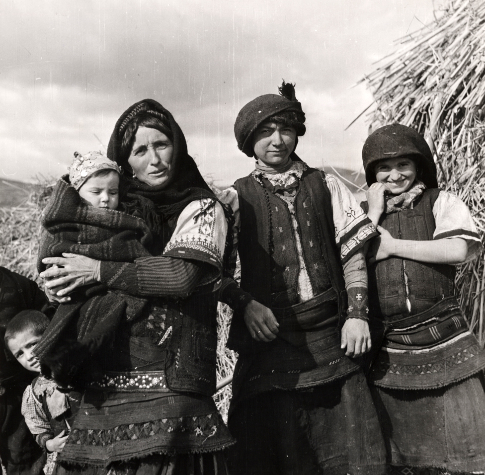 Macedonian peasants in Greece in 1947