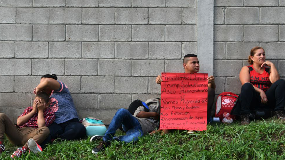 Inmigrantes hondureños