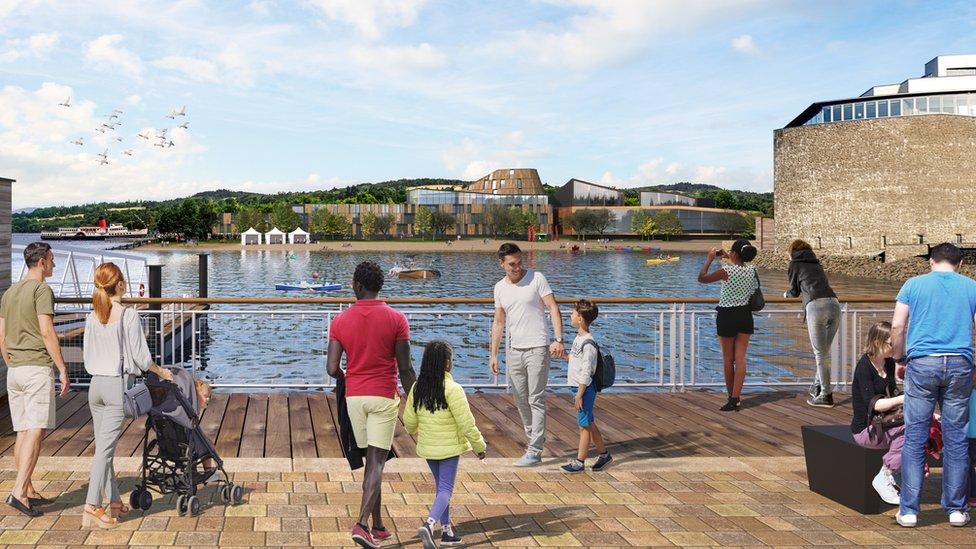 Plans for £30m tourist development at Loch Lomond