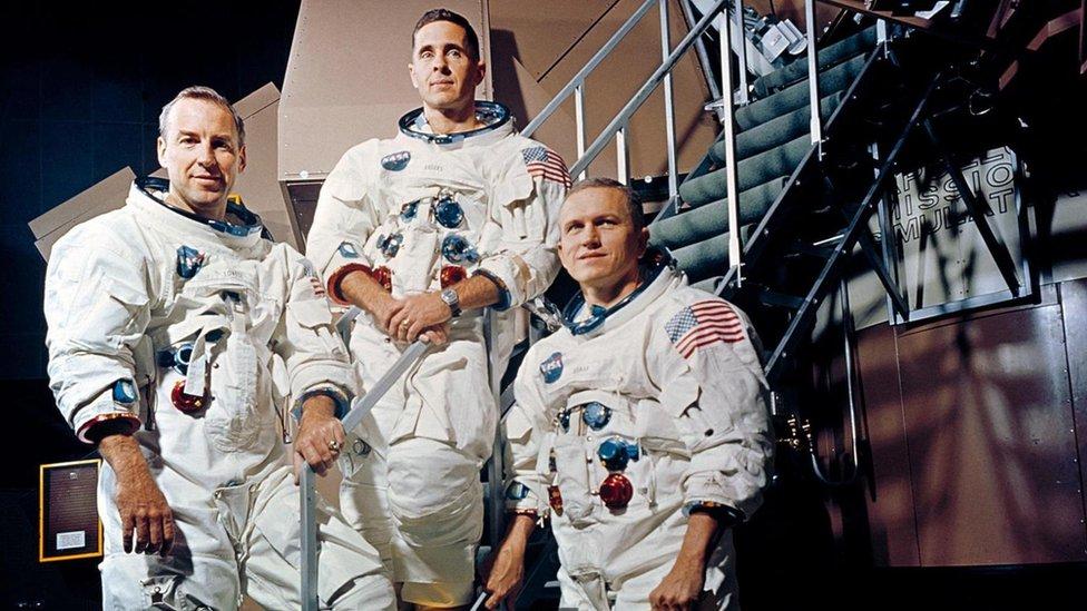 Tripulación del Apolo 8.