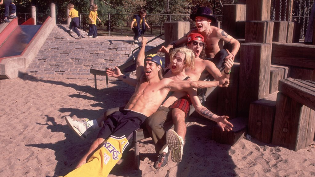 The Red Hot Chili Peppers in 1989