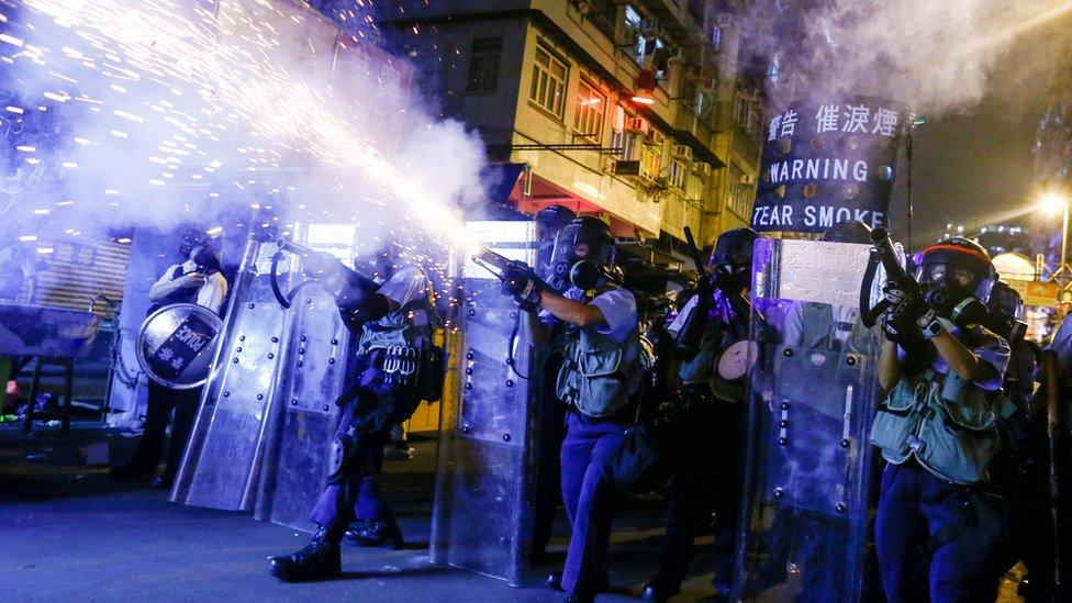 香港防暴警察