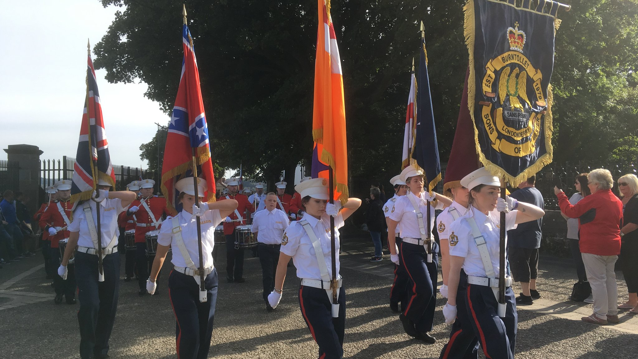 Apprentice Boys parade takes place in Londonderry
