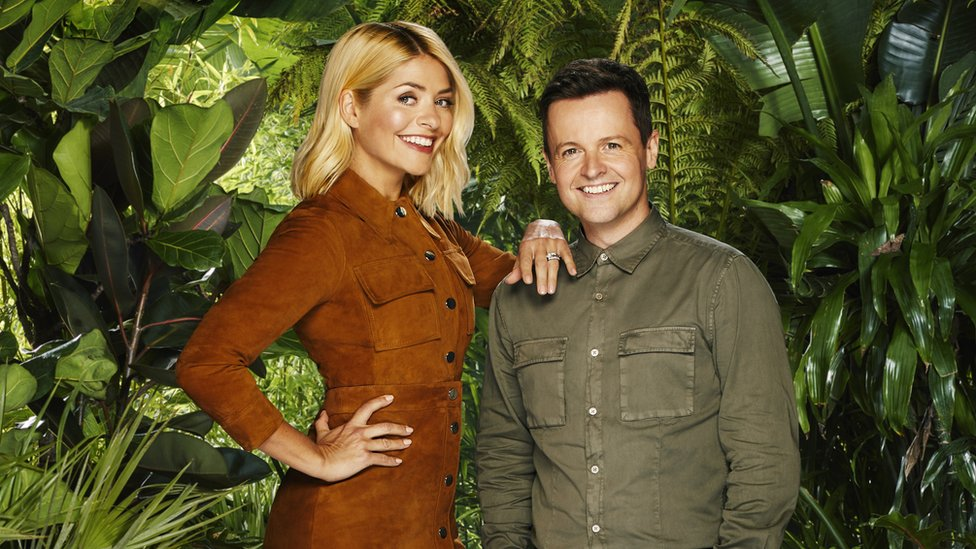 Holly Willoughby makes I'm A Celebrity debut - and is full of jokes