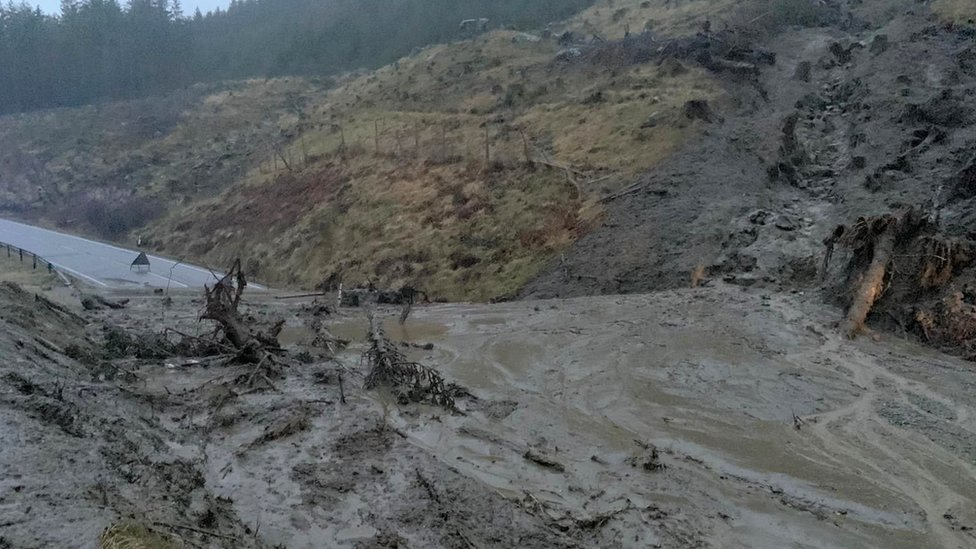 Landslide at Rest and Be Thankful
