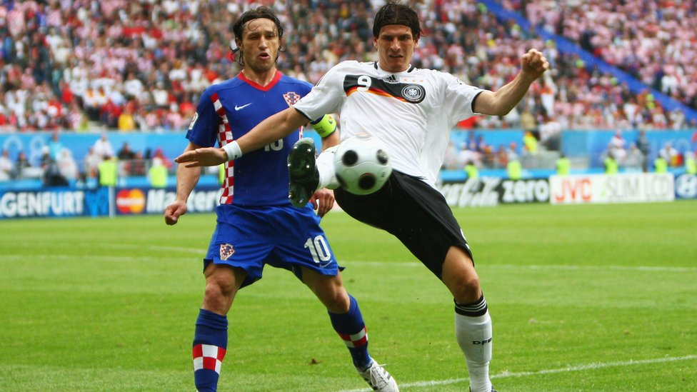 Mario Gomez es todo un veterano en la selección alemana.
