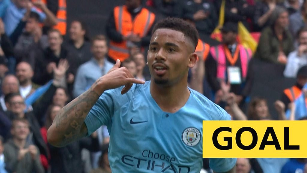 FA Cup: Jesus scores Man City's fourth in FA Cup final against Watford