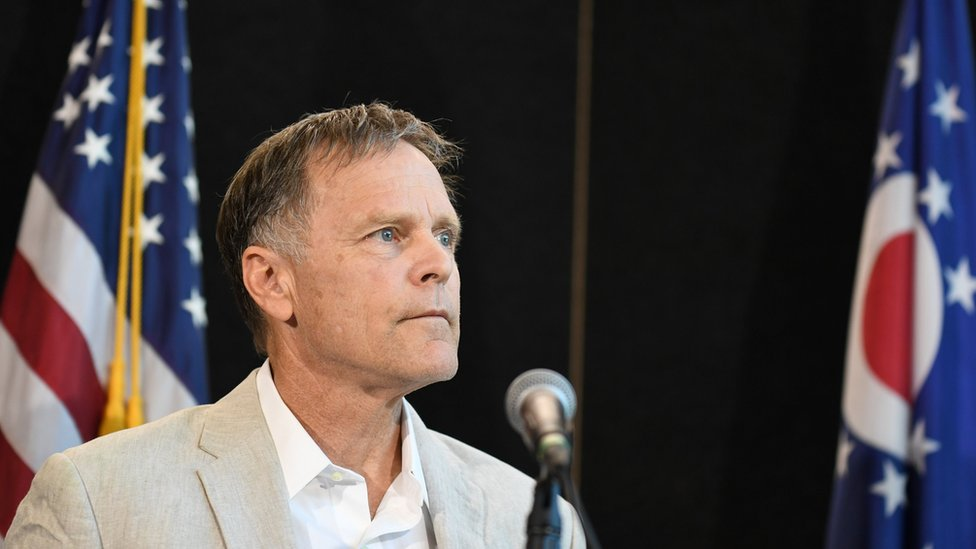 Fred Warmbier, father of Otto Warmbier, speaks during a news conference in Cincinnati, Ohio, U.S. June 15