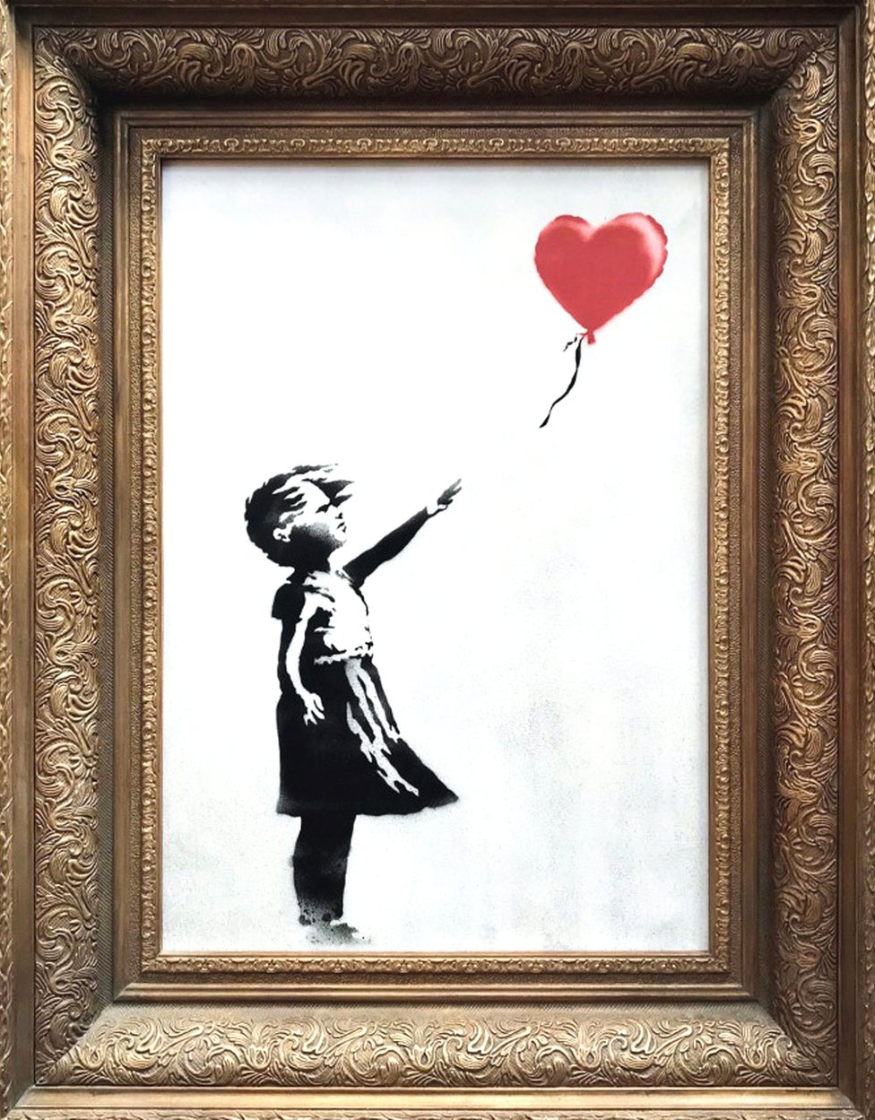 Banksy's Girl With Balloon, 2006