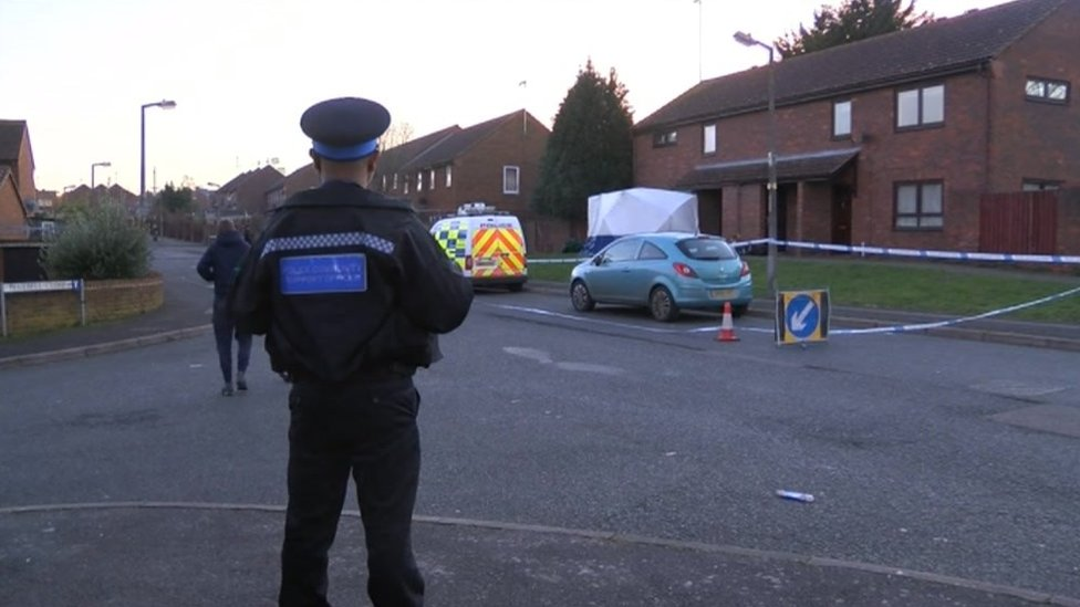 Man arrested over Gillingham house fire body