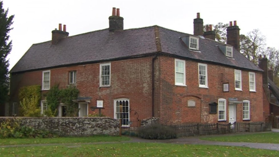 Jane Austen's Chawton home 'at risk' from leaking roof ...