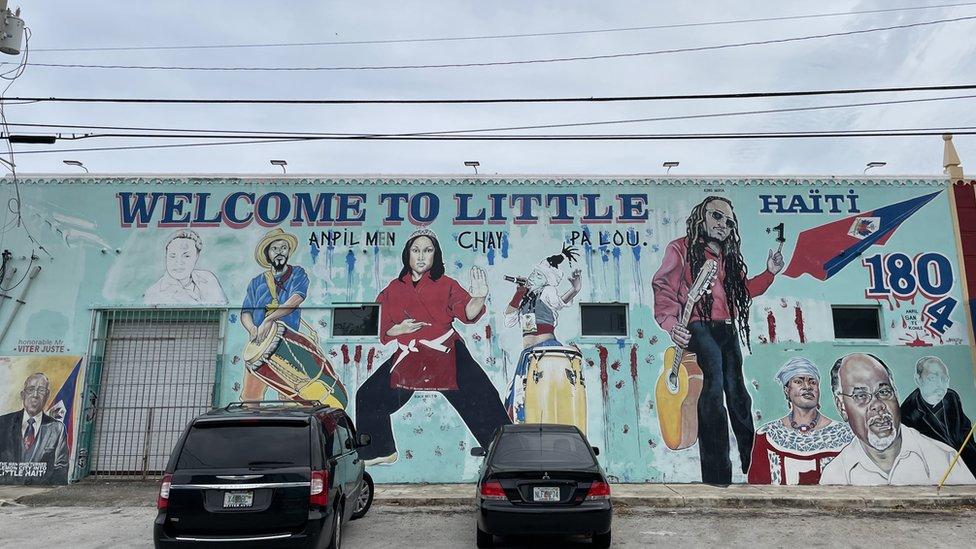 Mural en Little Haiti