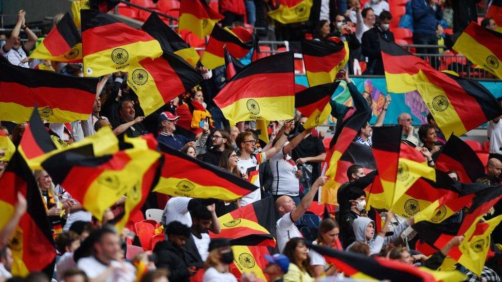 مشجعون ألمان