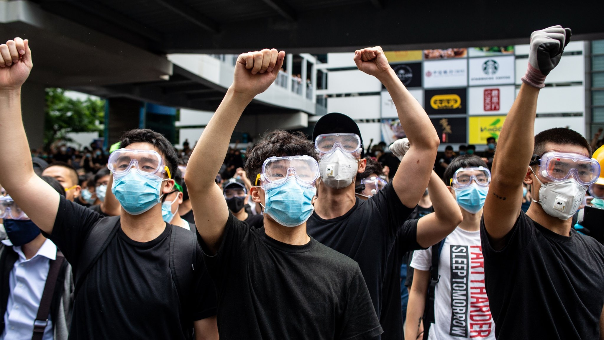 Hong Kong extradition: How radical youth forced the government's hand