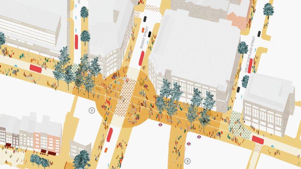 London Oxford Street £150m improvements plans unveiled