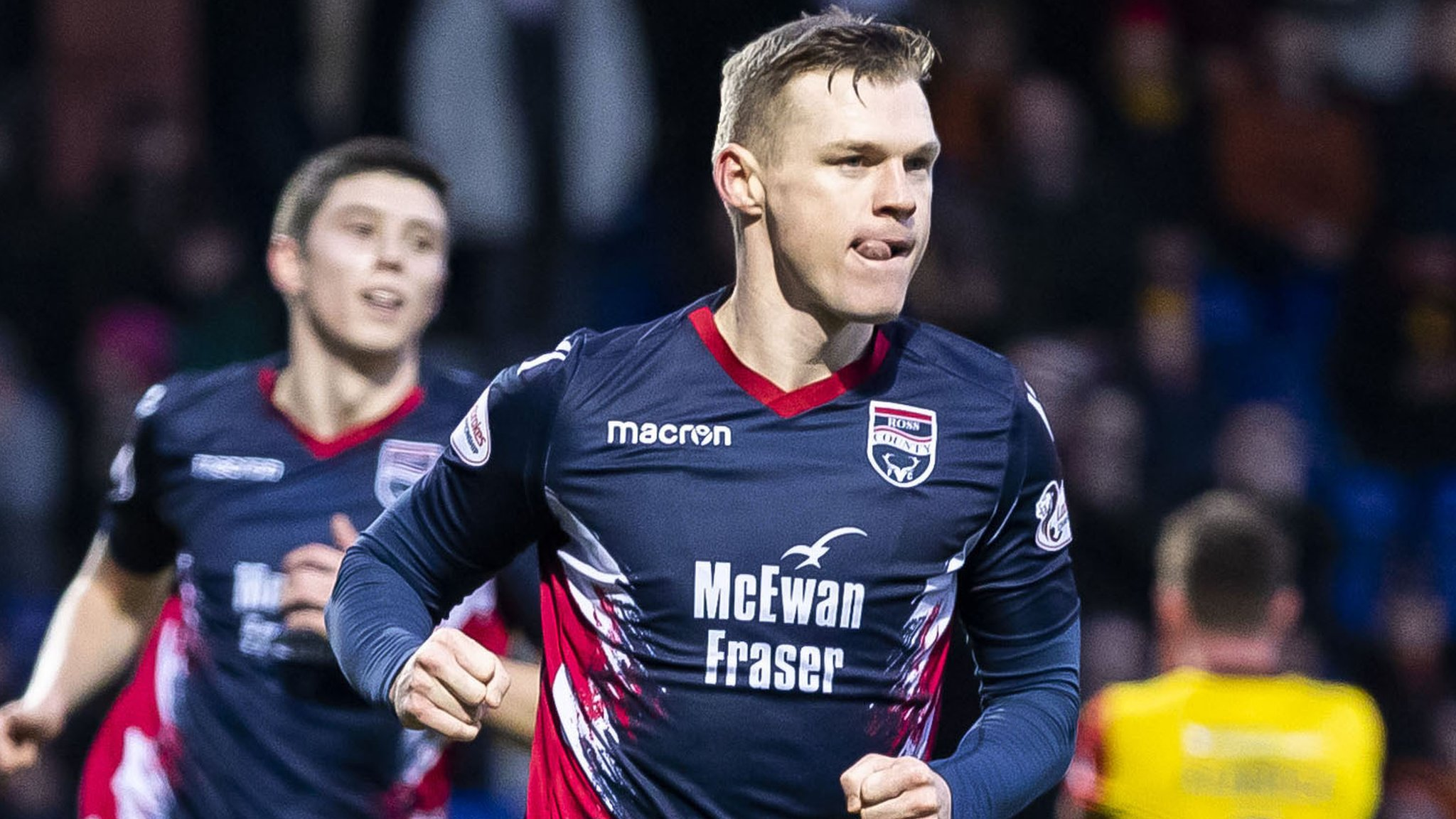 Ross County 2-0 Partick Thistle: Dingwall side go top of Championship