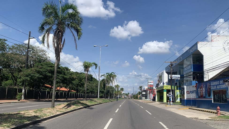 Calle de Santa Cruz, Bolivia