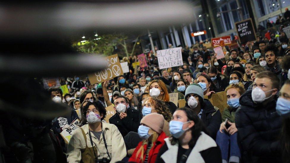 Court Bans Australian Black Lives Matter Rally Over Coronavirus Bbc News