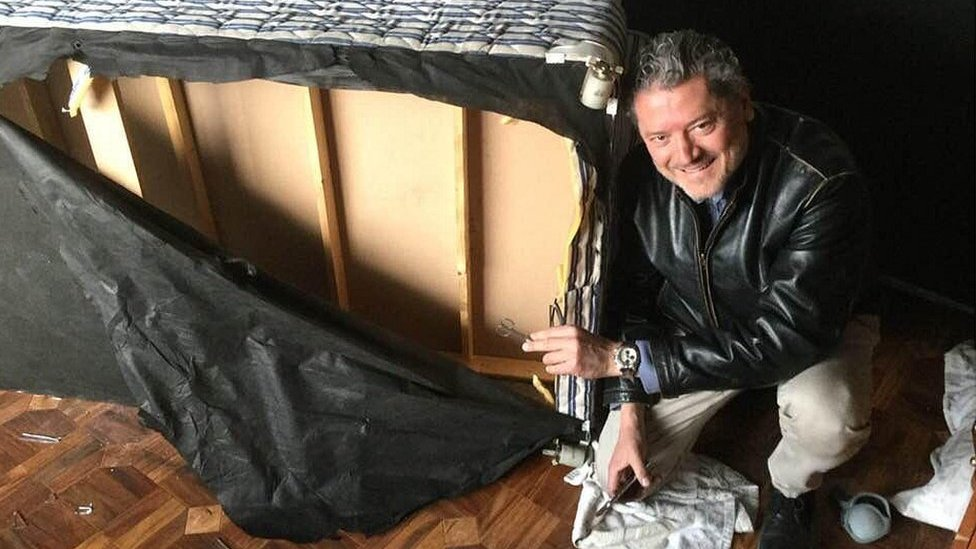 'The bed that saved me from the Taliban'