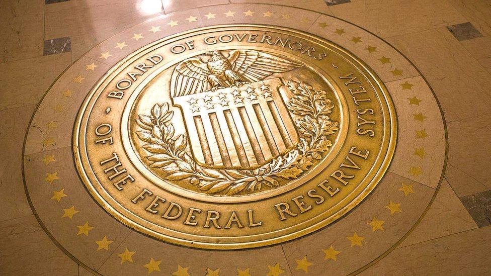 Símbolo de la Reserva Federal