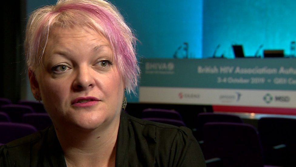 The chairwoman of the British HIV Association, Dr Laura Waters, says they want PrEP to be universally available through the NHS to people at high-risk