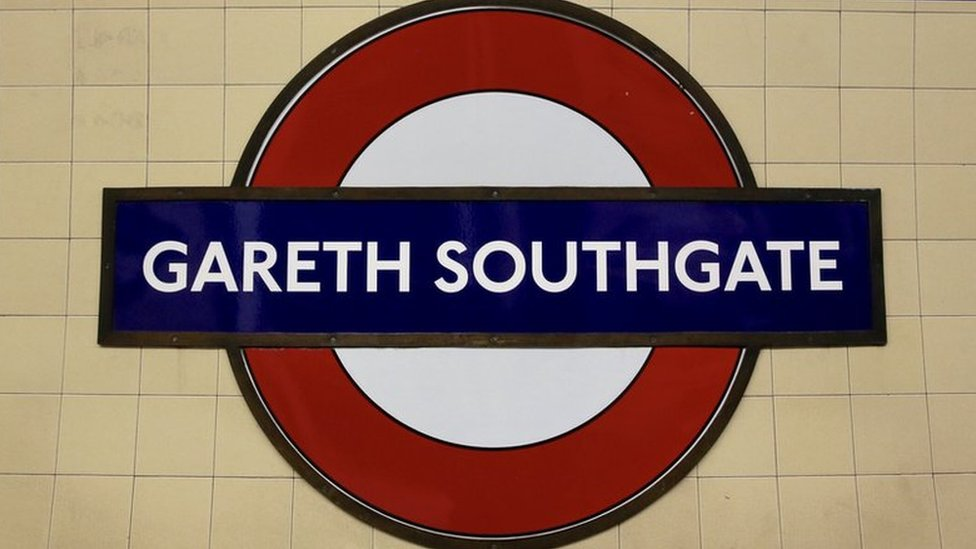 World Cup 2018: Tube station named Gareth Southgate