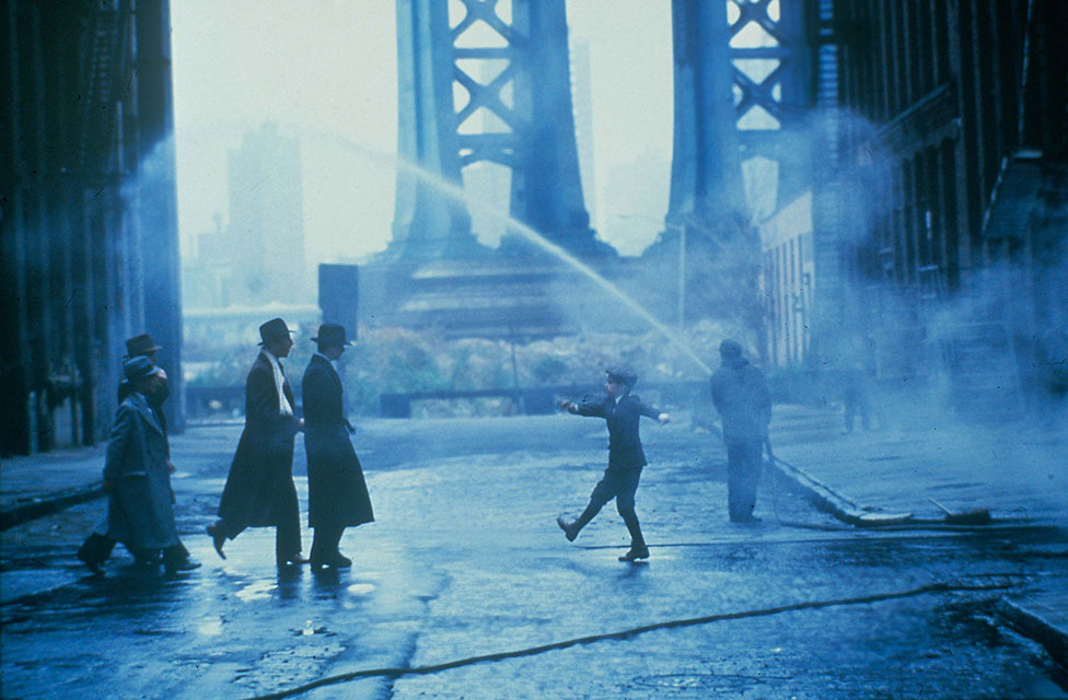 A still from the film Once Upon a Time in America