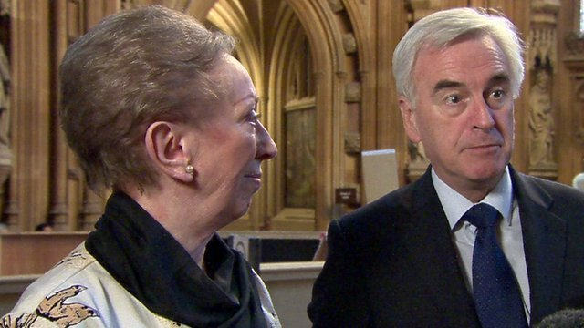 Margaret Beckett and John McDonnell