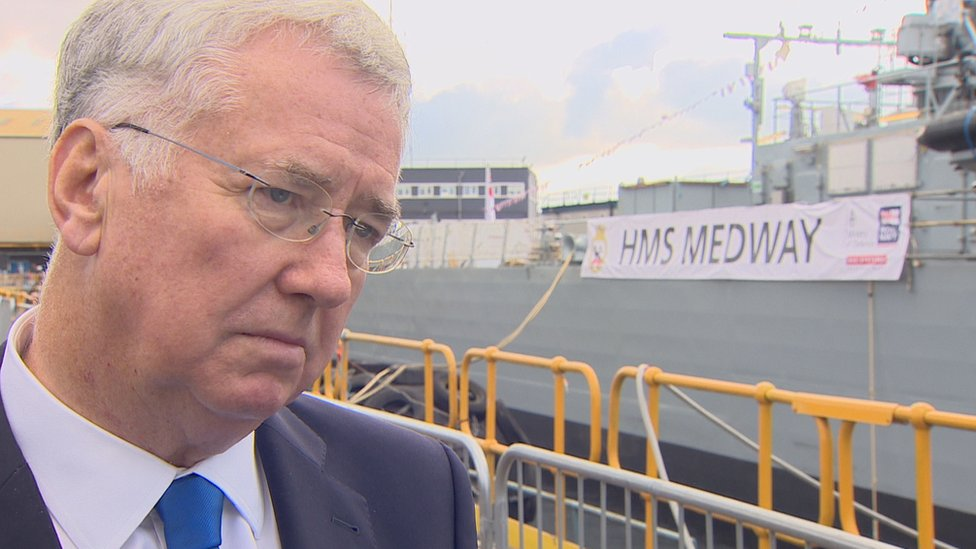 Defence Secretary says Clyde shipyard's have 'certainty'