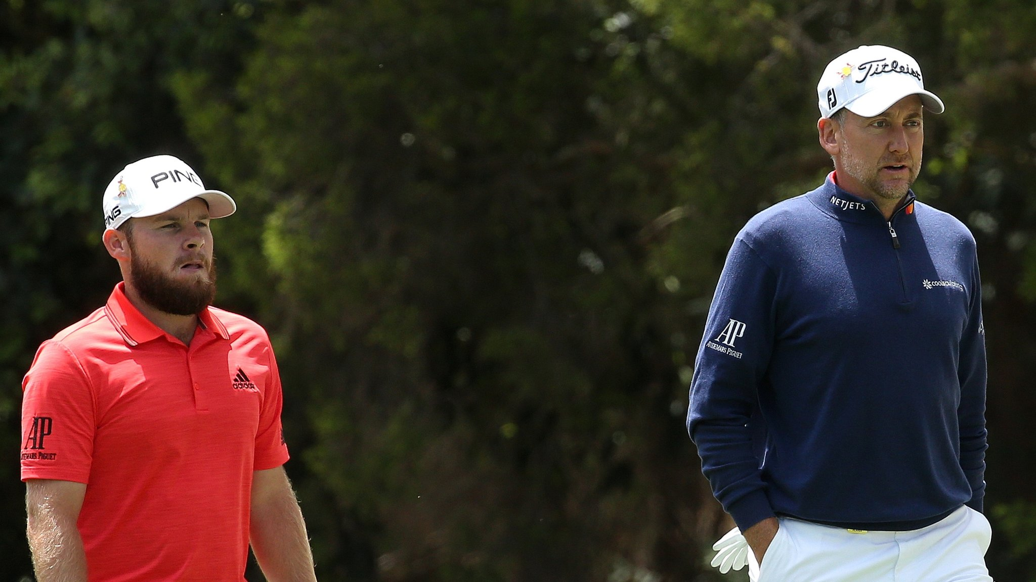 World Cup of Golf: England's Tyrrell Hatton and Ian Poulter in joint lead