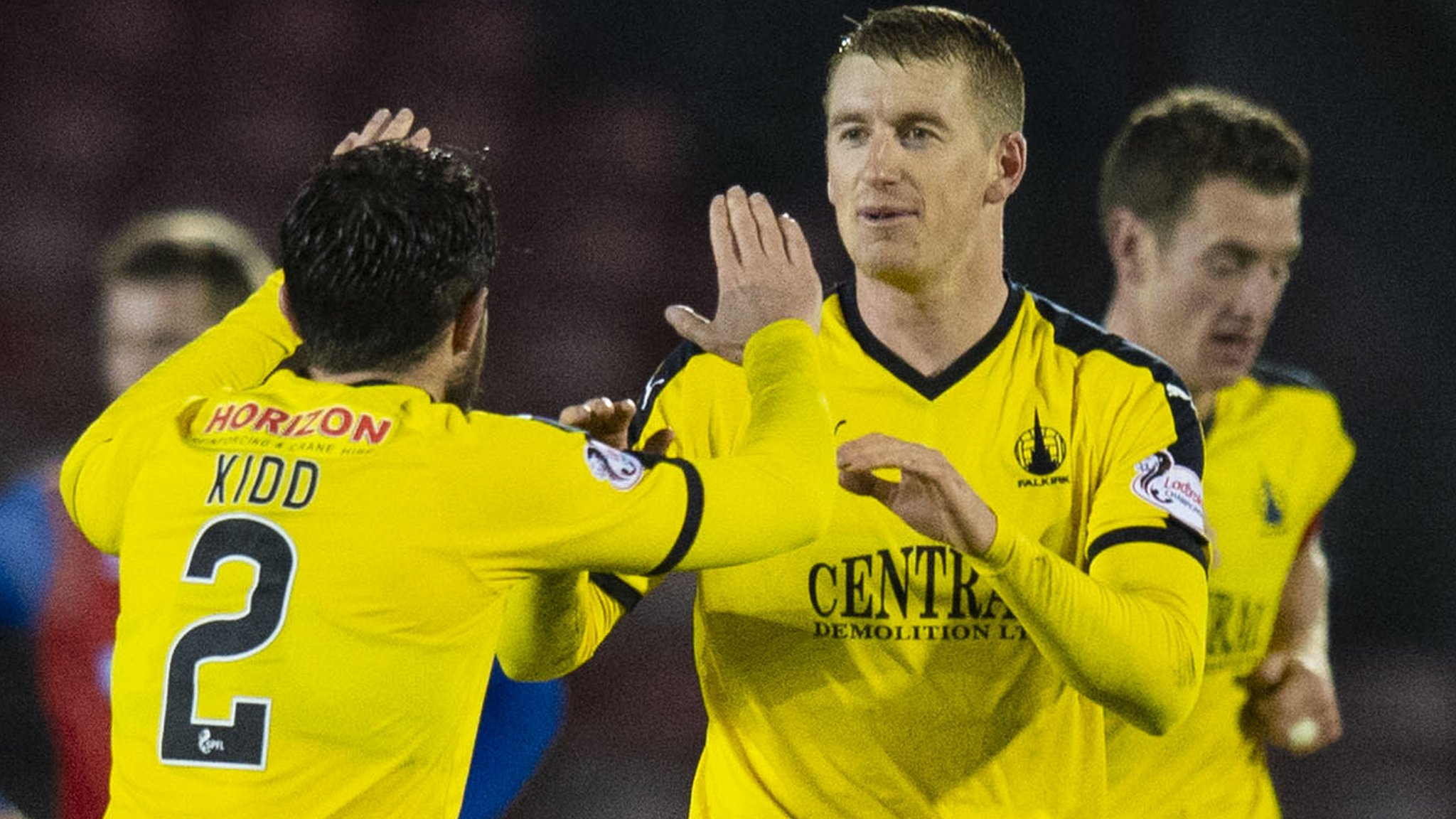 Inverness CT 2-3 Falkirk: Ray McKinnon's side end hosts' unbeaten run