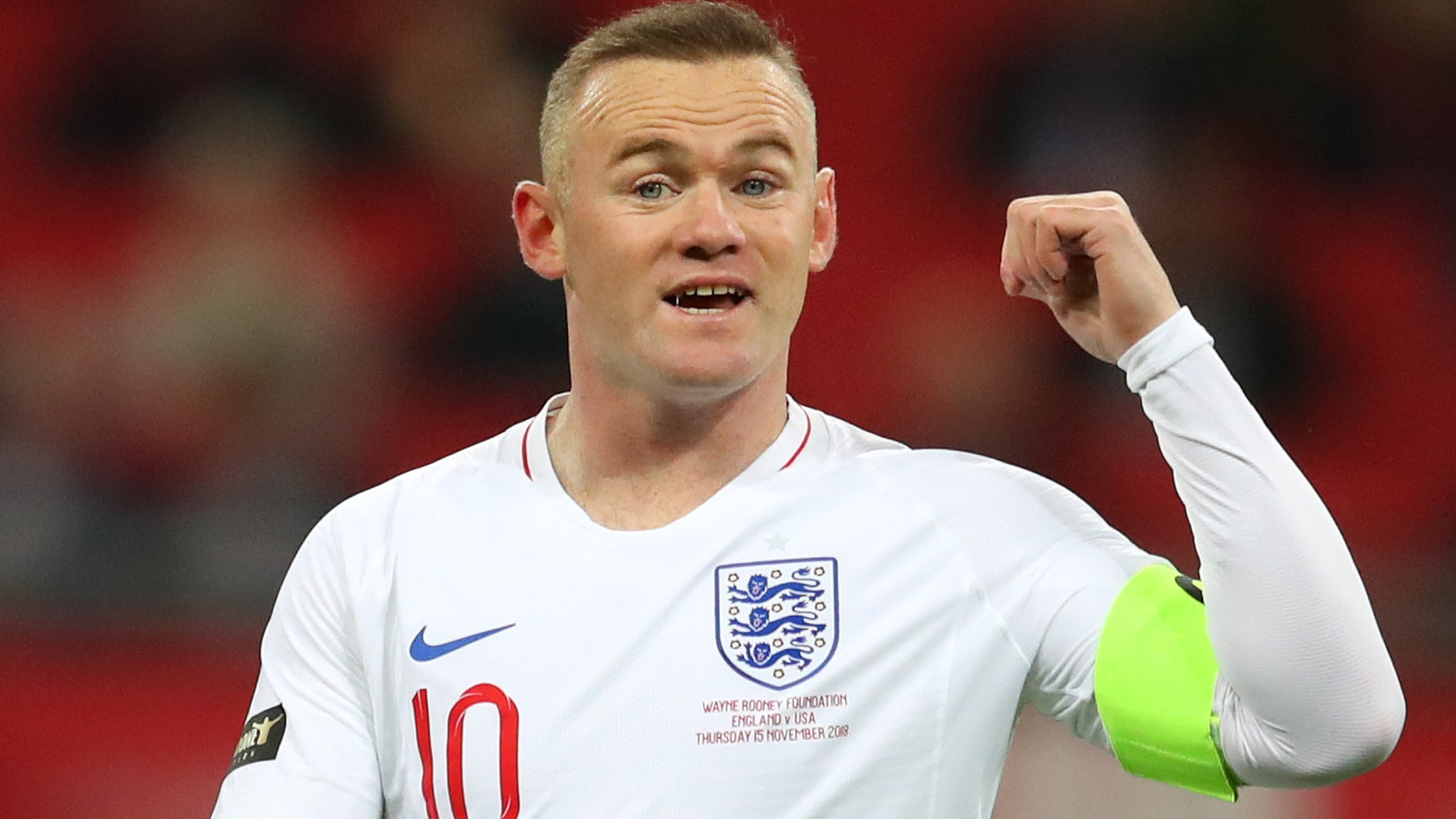 England sweep aside US in Rooney's farewell match