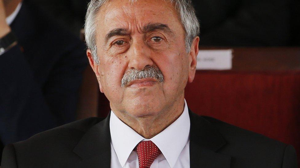 Leader of Northern Cyprus, Mustafa Akinci