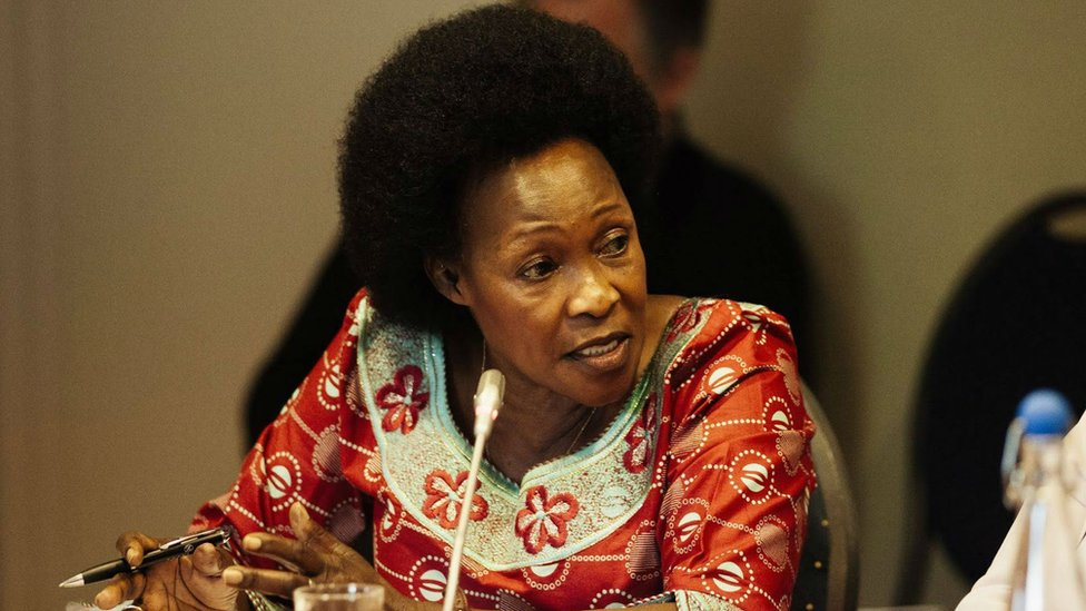 Betty Bigombe at the Centre of Humanitarian Dialogue Oslo Forum, 2018