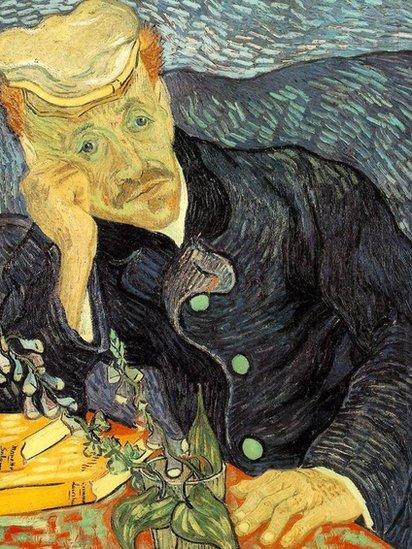 Retrato del doctor Gachet (Vincent van Gogh,1890).