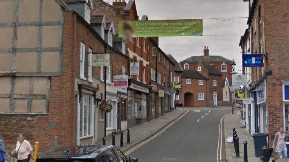 Man arrested on suspicion of raping girl in Shrewsbury