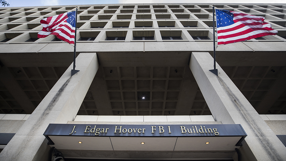 The J. Edgar Hoover Building, headquarters of the Federal Bureau Of Investigation