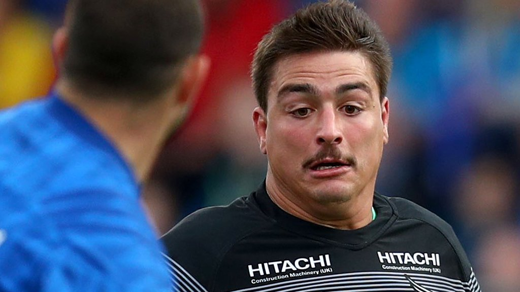 Santiago Socino: Newcastle hooker signs for Argentina Super Rugby side Jaguares