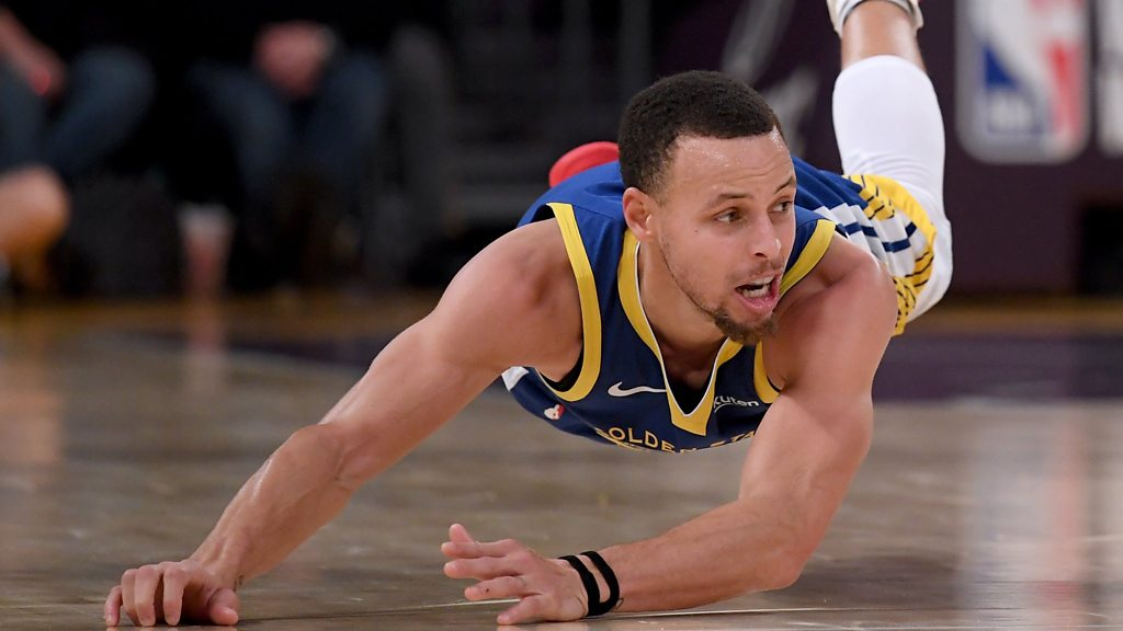 NBA: Golden State Warriors superstar Stephen Curry's worst five seconds of basketball