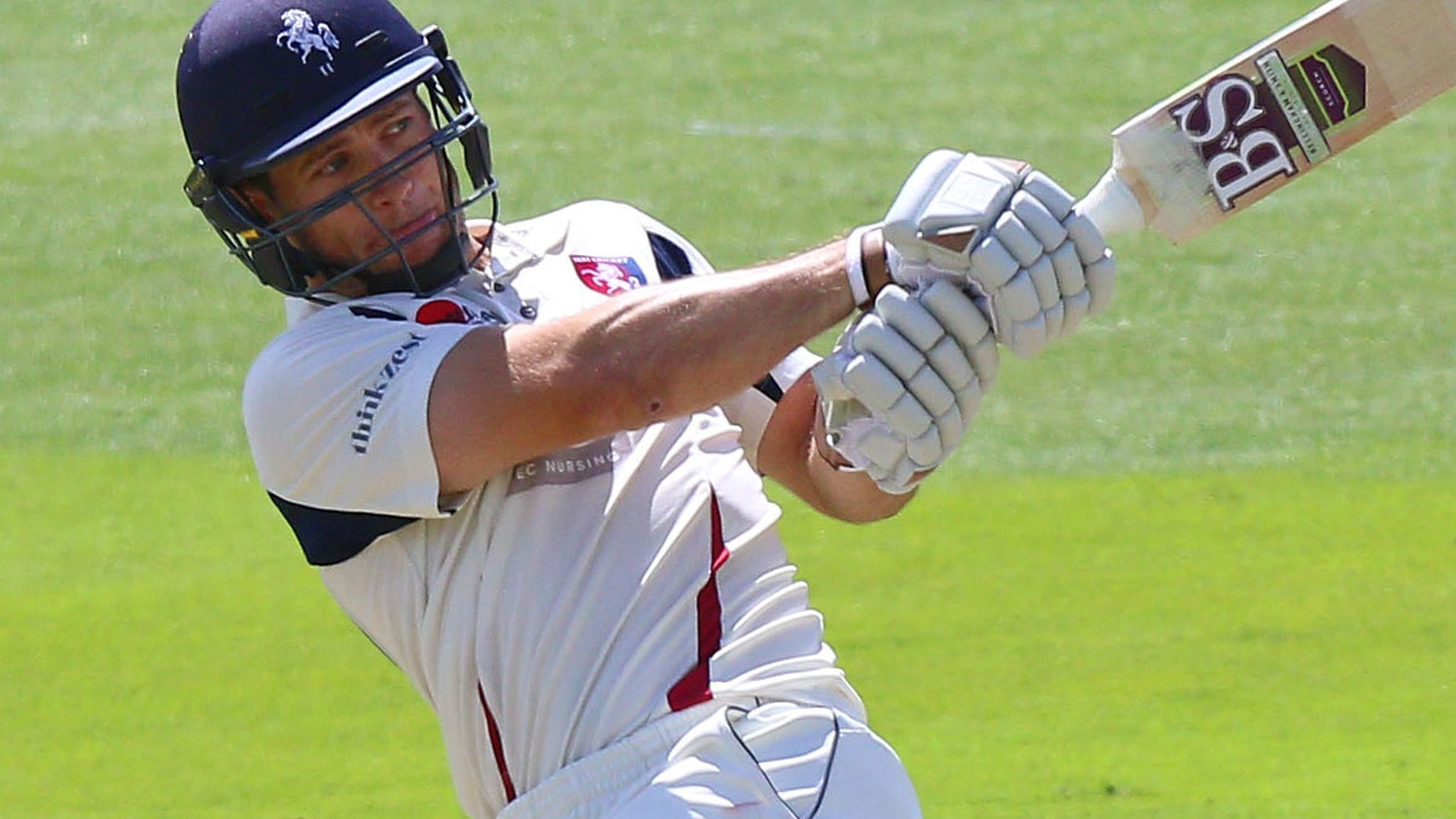 County Championship: Sean Dickson's brilliant ton helps Kent to Leicestershire win